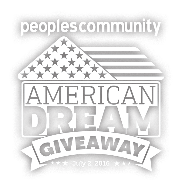 Peoples Community American Dream Giveaway